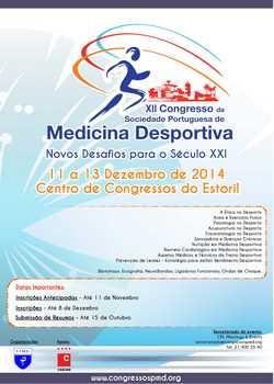 Cartaz Congresso de medicina desportiva - Dez2014