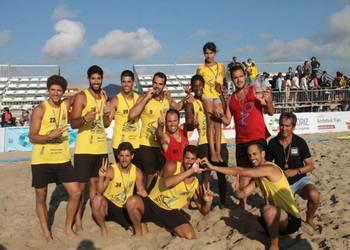 Futebol de Praia - VGaw - campeão nacional masculino