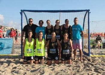 Futebol de Praia - NBelchior - campeão nacional feminino