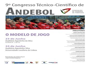 Cartaz 9º Congresso Técnico Científico - destaques