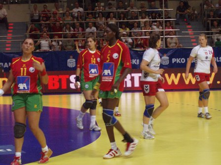 Polónia : Portugal - 1ª mão Play-Off Ech 2008 Seniores Femininos