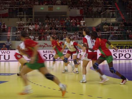 Polónia : Portugal - 1ª mão Play-Off Ech 2008 Seniores Femininos 3