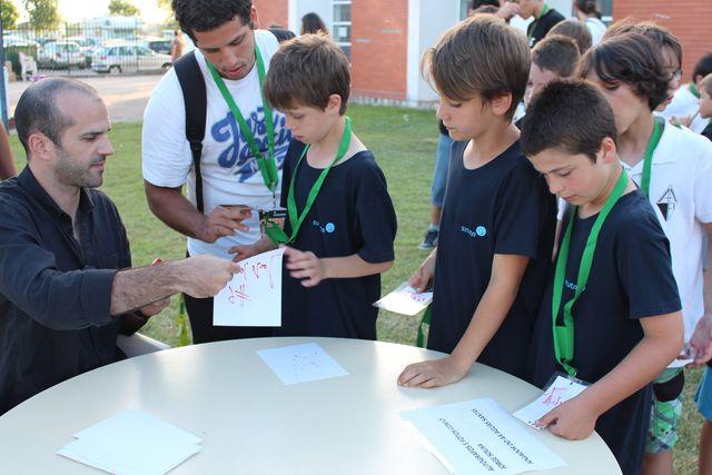 Sessão de autógrafos com Jorge Sousa