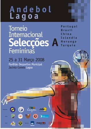 Cartaz Torneio Internacional de Lagoa