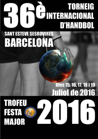 Cartaz Torneio XXXVI Festa Major 2016 Cup