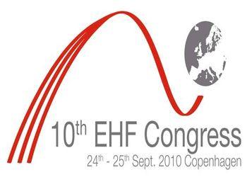 Logo 10º Congresso EHF