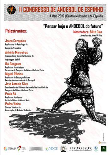 Cartaz II Congresso de Andebol de Espinho