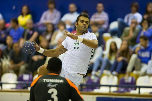 Torneio Internacional de Elite - Portugal : Tunísia - Pedro Cruz - foto: Pedro Alves