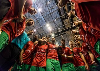 Portugal : Croácia - Europeu Sub20 Masculinos - foto: EHF / Jurij Kodrun Sports Photography