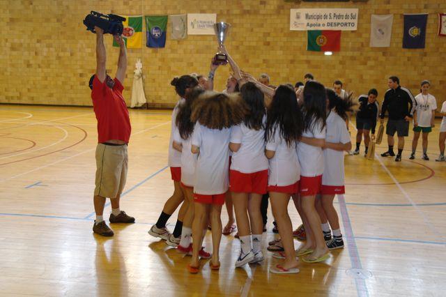 Valongo do Vouga - campeão nacional infantis femininos 2011-12