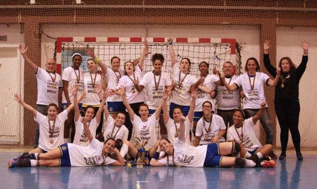 Madeira Sad Campeão Nacional 2015/ 2016 Seniores Femininos - foto: WUP Sports