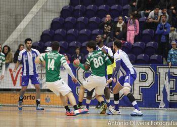 FC Porto - Sporting CP - Campeonato Fidelidade Andebol 1 - foto: António Oliveira