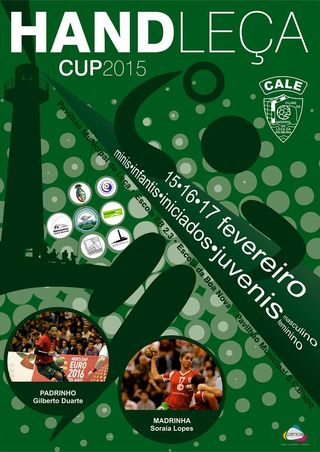 Cartaz HandLeça Cup 2015