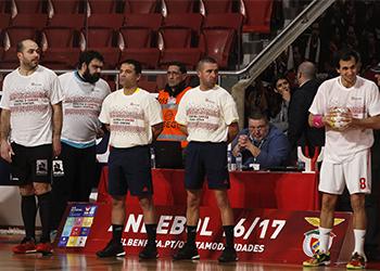 Campeonato Andebol 1: SL Benfica - Águas Santas Milaneza 2