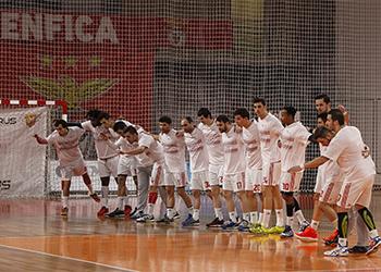 Campeonato Andebol 1: SL Benfica - Águas Santas Milaneza 1