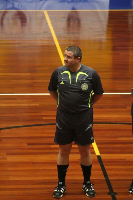 Despedida de José Macau enquanto árbitro