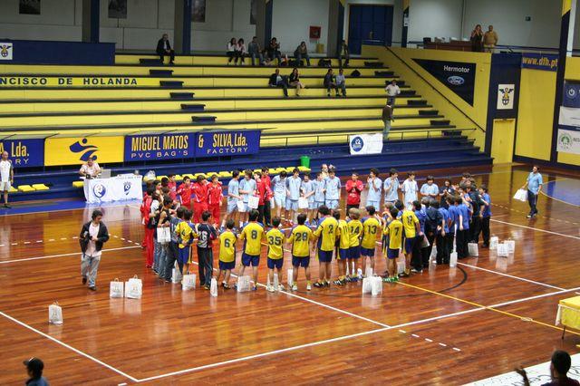 Entrega de Prémios Fase Final Campeonato Nacional 1ª Divisão Iniciados Masculinos - Troféu Pousadas da Juventude 1