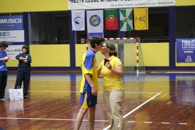 Entrega de Prémios Fase Final Campeonato Nacional 1ª Divisão Iniciados Masculinos - Troféu Pousadas da Juventude 21