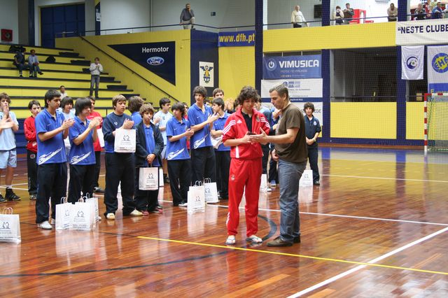 Entrega de Prémios Fase Final Campeonato Nacional 1ª Divisão Iniciados Masculinos - Troféu Pousadas da Juventude 24