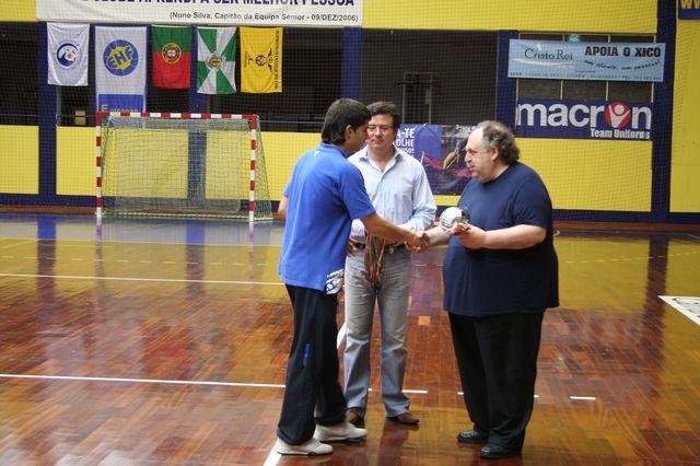 Entrega de Prémios Fase Final Campeonato Nacional 1ª Divisão Iniciados Masculinos - Troféu Pousadas da Juventude 16