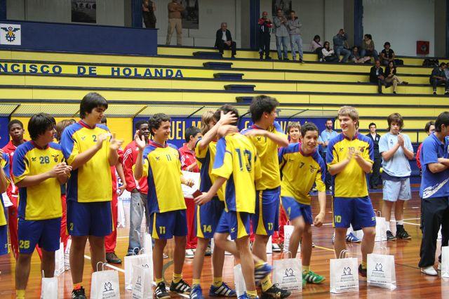 Entrega de Prémios Fase Final Campeonato Nacional 1ª Divisão Iniciados Masculinos - Troféu Pousadas da Juventude 19