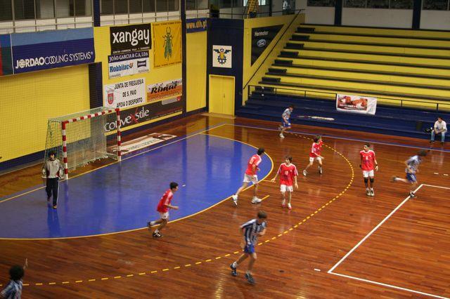 SL Benfica : FC Porto - Fase Final Campeonato Nacional 1ª Divisão Iniciados Masculinos - Troféu Pousadas da Juventude 9