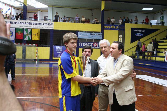 Entrega de Prémios Fase Final Campeonato Nacional 1ª Divisão Iniciados Masculinos - Troféu Pousadas da Juventude 9