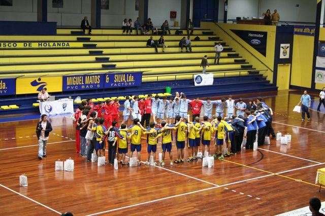 Entrega de Prémios Fase Final Campeonato Nacional 1ª Divisão Iniciados Masculinos - Troféu Pousadas da Juventude 2