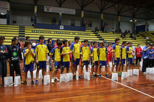 Entrega de Prémios Fase Final Campeonato Nacional 1ª Divisão Iniciados Masculinos - Troféu Pousadas da Juventude 14