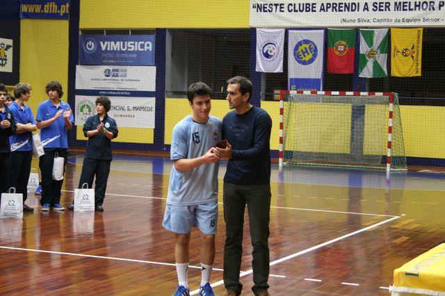 Entrega de Prémios Fase Final Campeonato Nacional 1ª Divisão Iniciados Masculinos - Troféu Pousadas da Juventude 25