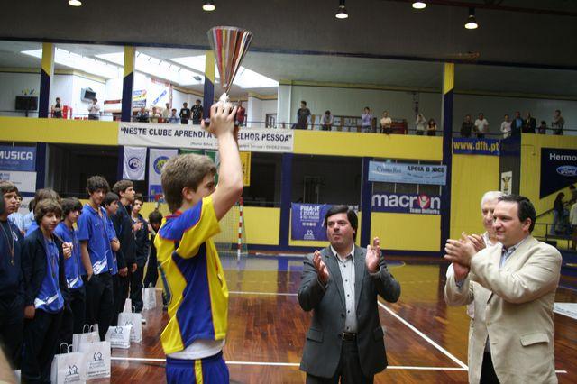 Entrega de Prémios Fase Final Campeonato Nacional 1ª Divisão Iniciados Masculinos - Troféu Pousadas da Juventude 7