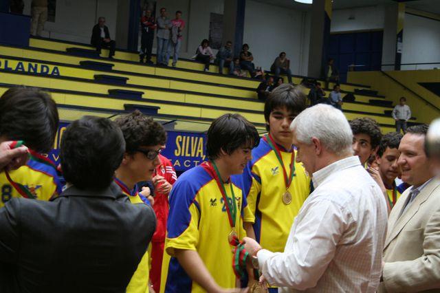 Entrega de Prémios Fase Final Campeonato Nacional 1ª Divisão Iniciados Masculinos - Troféu Pousadas da Juventude 12