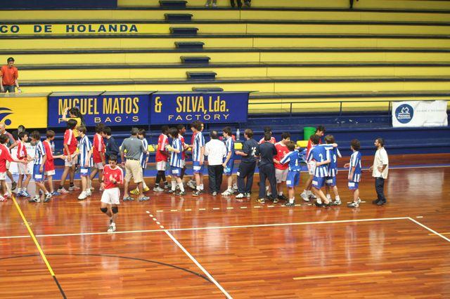 SL Benfica : FC Porto - Fase Final Campeonato Nacional 1ª Divisão Iniciados Masculinos - Troféu Pousadas da Juventude 21