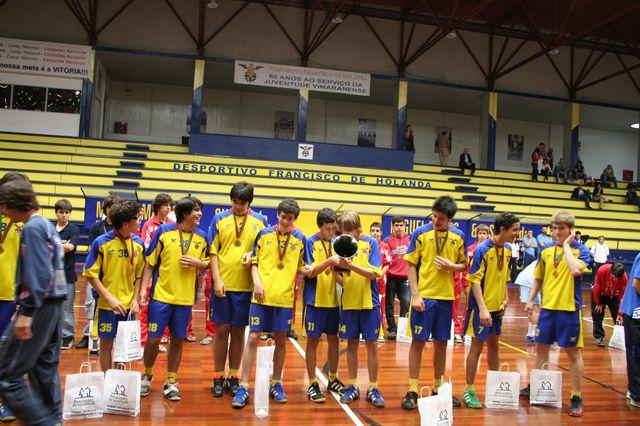 Entrega de Prémios Fase Final Campeonato Nacional 1ª Divisão Iniciados Masculinos - Troféu Pousadas da Juventude 5