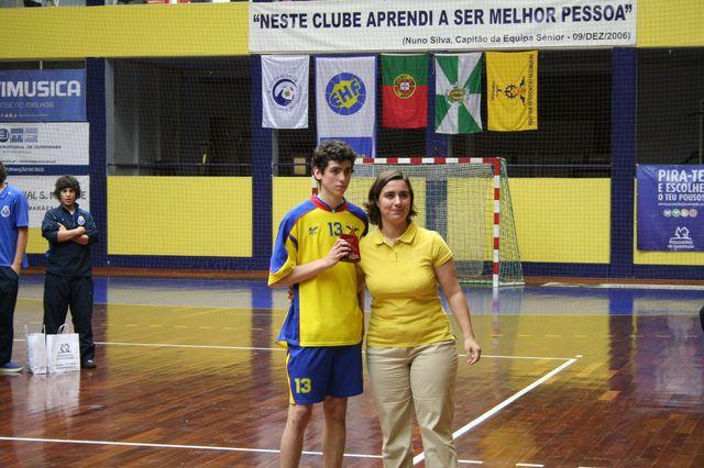 Entrega de Prémios Fase Final Campeonato Nacional 1ª Divisão Iniciados Masculinos - Troféu Pousadas da Juventude 20