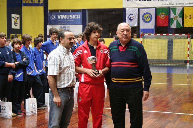 Entrega de Prémios Fase Final Campeonato Nacional 1ª Divisão Iniciados Masculinos - Troféu Pousadas da Juventude 17
