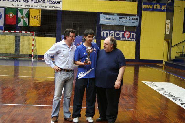 Entrega de Prémios Fase Final Campeonato Nacional 1ª Divisão Iniciados Masculinos - Troféu Pousadas da Juventude 15