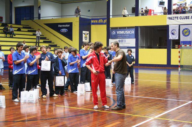 Entrega de Prémios Fase Final Campeonato Nacional 1ª Divisão Iniciados Masculinos - Troféu Pousadas da Juventude 23