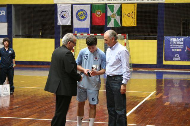 Entrega de Prémios Fase Final Campeonato Nacional 1ª Divisão Iniciados Masculinos - Troféu Pousadas da Juventude 18
