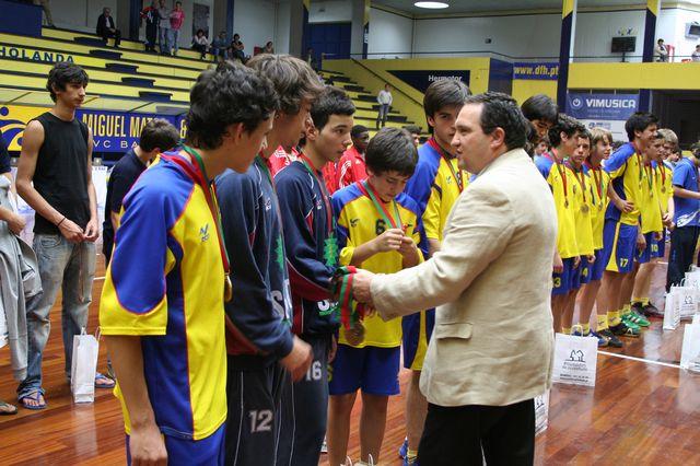 Entrega de Prémios Fase Final Campeonato Nacional 1ª Divisão Iniciados Masculinos - Troféu Pousadas da Juventude 11