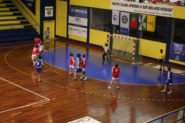 SL Benfica : FC Porto - Fase Final Campeonato Nacional 1ª Divisão Iniciados Masculinos - Troféu Pousadas da Juventude 5