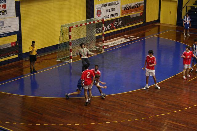 SL Benfica : FC Porto - Fase Final Campeonato Nacional 1ª Divisão Iniciados Masculinos - Troféu Pousadas da Juventude 11