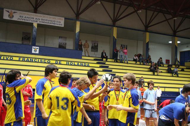 Entrega de Prémios Fase Final Campeonato Nacional 1ª Divisão Iniciados Masculinos - Troféu Pousadas da Juventude 6