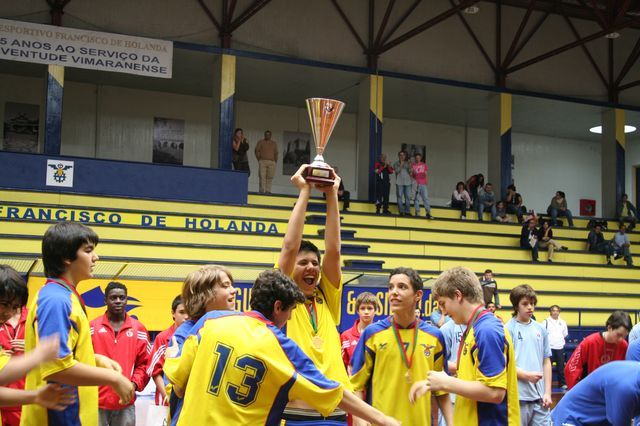 DF Holanda - Campeão Nacional Iniciados Masculinos 1ª Divisão 2007/2008