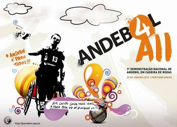 Andebol 4 All - 1ª Demonstração Nacional de Andebol em Cadeira de Rodas