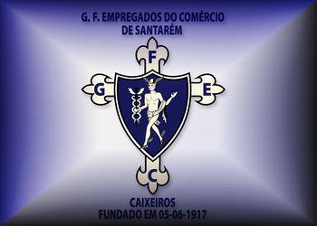 Logo Grupo de Futebol dos Empregados no Comércio