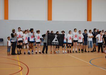 LA Aguada Cima - Campeão Nacional 2ª Divisão Iniciados Femininos