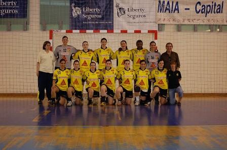 1/2 Final Taça Portugal Seniores Femininos - Colégio de Gaia
