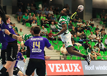 Chekhovskie Medvedi : Sporting CP - Velux EHF Champions League . foto: EHF