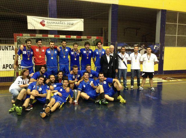CD Xico Andebol - campeão nacional seniores masculinos da 2ª divisão